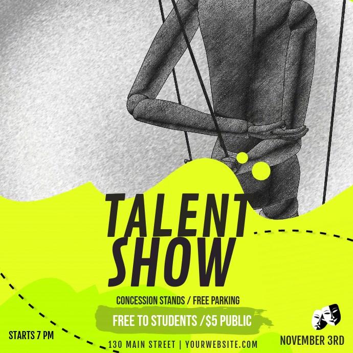 Yellow Talent Show Drama Club Video