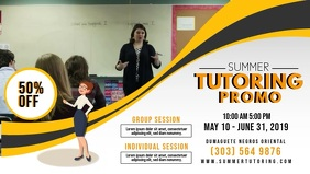 Yellow Tuition Class Banner Template