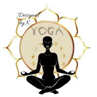 Yoga, Fitness, Meditation,Logo Logotipo template