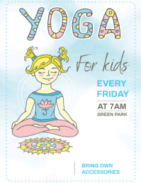 YOGA AD FLYER TEMPLATE