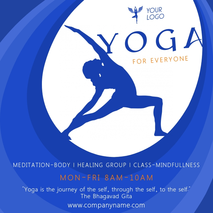 Copy Of Yoga Banner Postermywall