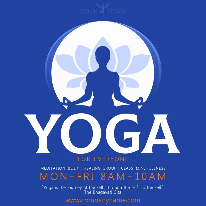 Yoga Banner Template Postermywall