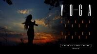 Yoga Class Facebook Video template