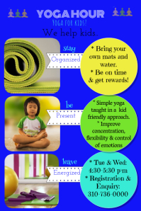 Yoga class for kids/ children