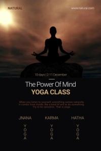 Yoga Class Poster Template