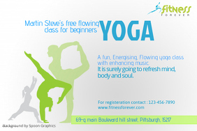 Yoga Classes Flyer Template