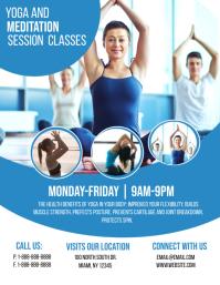 Yoga Classes Template