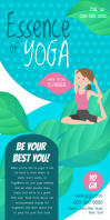 Yoga Classes Roll up Banner