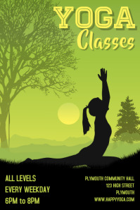 Yoga Classes Template