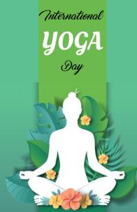Yoga Day Isigamu Sekhasi Ububanzi template