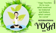 Yoga Day Tag template