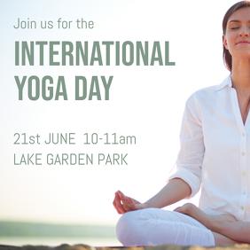 yoga day graphic