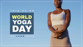 Yoga Day Video Template