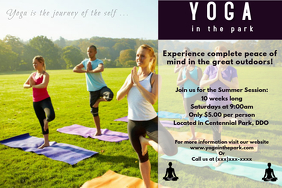 Yoga Flyer | 110 Customizable Design Templates For Yoga Classes Flyer Postermywall