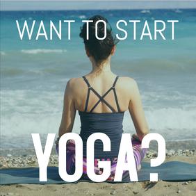 Yoga Insta post