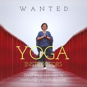 Yoga instructor hire