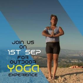 Yoga Meditation Instagram Post