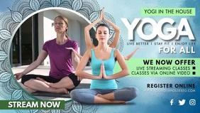 Yoga Online Class Banner