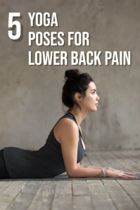 yoga pinterest graphic template