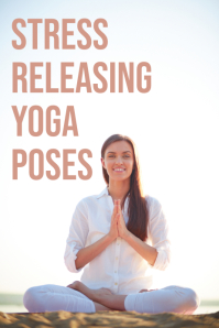 yoga pinterest graphic template