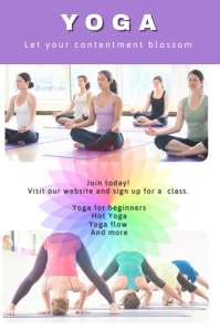Customizable Design Templates For Yoga