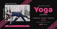 yoga social media Facebook Ad template