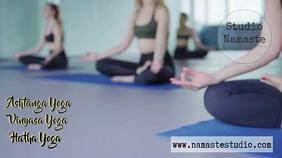 yoga studio lessons advertisment