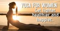 yoga training facebook ad template