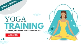 yoga training youtube thumbnail infographic s template