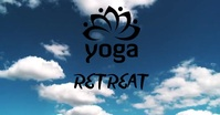 Yoga Video Facebook Shared Image template
