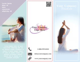 Yoga/Wellness Trifold Brochure