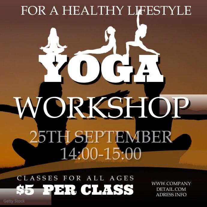 Yoga Workshop Instagram