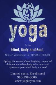Yoga Workshop Poster Template