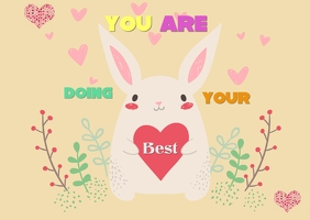 You are doing your best