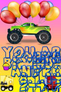 Young Boys Birthday Flyer