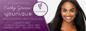 YOUNIQUE Presenter Customizable Facebook Banner Template