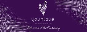 YOUNIQUE Presenter Customizable Facebook Banner Template