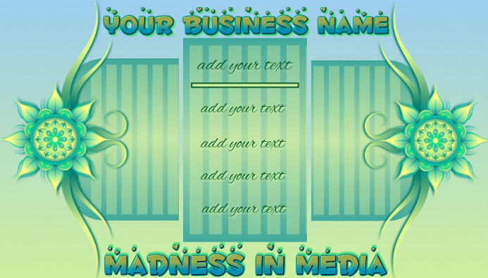 Your Creative Business Card #1 template