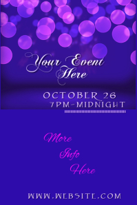Your Event Poster template