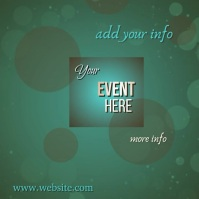 Your Event Video Sampul Album template