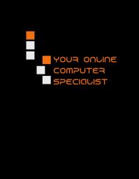 Your Online Computer Specialist