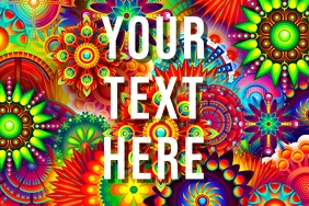 your text here color