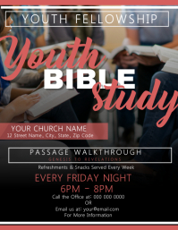 Youth Bible Study Church Template