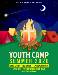 Youth Camp Flyer