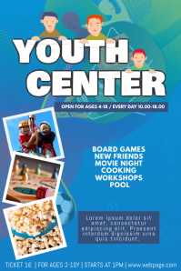 Youth Center Flyer Template