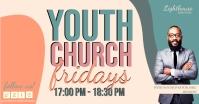 YOUTH CHURCH FRIDAYS DESIGN TEMPLATE Imagen Compartida en Facebook