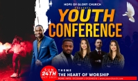 Youth Conference Tag template