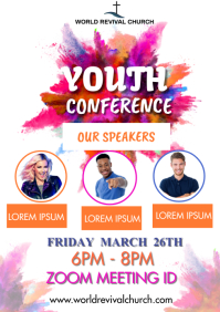 YOUTH CONFERENCE A3 template