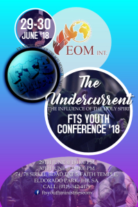Youth Conference Poster Template
