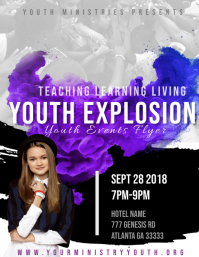 670 customizable design templates for youth conference postermywall